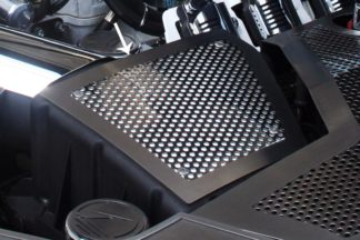Air Box Filter Cover Perforated Stock 2010-2015 Chevrolet Camaro