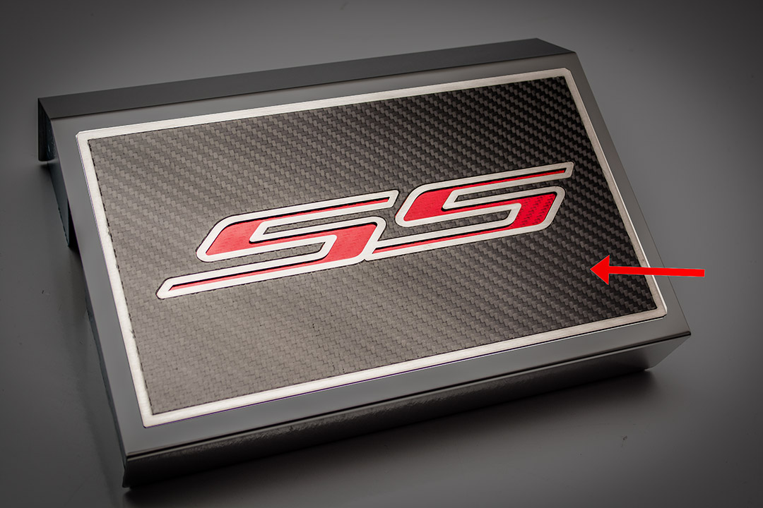 Fuse Box Cover Carbon Fiber Top Plate w/ Polished SS 2016-2019 Chevrolet  CamaroGR1 Performance