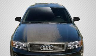 2002-2005 Audi A4 B6 S4 Carbon Creations OEM Hood - 1 Piece