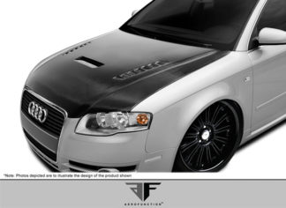 2006-2008 Audi A4 S4 B7 AF-1 Hood ( CFP ) - 1 Piece