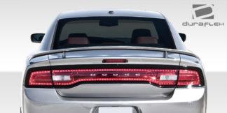 2011-2014 Dodge Charger Duraflex SRT Look Rear Wing Trunk Lid Spoiler - 1 Piece