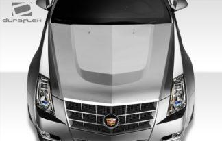 2008-2013 Cadillac CTS-V Duraflex CTS-V Look Hood - 1 Piece