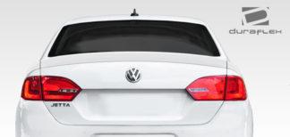 2011-2014 Volkswagen Jetta Duraflex R Look Rear Wing Trunk Lid Spoiler - 3 Piece