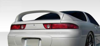 1991-1999 Mitsubishi 3000GT Duraflex VR4 Look Rear Wing Trunk Lid Spoiler - 3 Piece