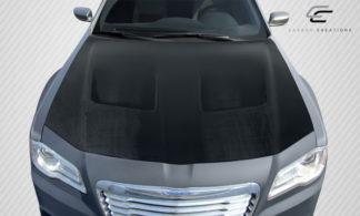 2011-2019 Chrysler 300 Carbon Creations Brizio Hood - 1 Piece