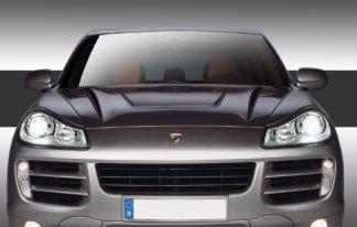 2003-2010 Porsche Cayenne Eros Version 2 Hood - 1 Piece