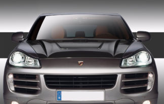 2003-2010 Porsche Cayenne Carbon Creations Eros Version 2 Hood - 1 Piece (Overstock)