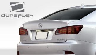 2006-2013 Lexus IS Series IS250 IS350 IS-F Duraflex W-1 Rear Wing Trunk Lid Spoiler - 1 Piece