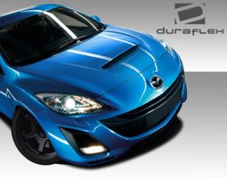 2010-2013 Mazda 3 Duraflex M-Speed Hood - 3 Piece