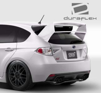 2008-2011 Subaru Impreza 5DR 2008-2014 Subaru WRX STI 5DR Duraflex WRC Look Rear Wing Trunk Lid Spoiler - 1 Piece