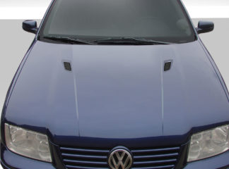 1999-2004 Volkswagen Jetta Duraflex RV-S Hood - 1 Piece (Overstock)