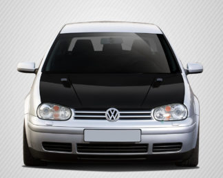1999-2005 Volkswagen Golf GTI Carbon Creations RV-S Hood - 1 Piece (Overstock)
