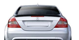 2003-2009 Mercedes CLK W209 Carbon AF-1 Trunk Spoiler ( CFP ) - 1 Piece