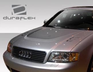 1998-2004 Audi A6 C5 Duraflex CT-R Hood - 1 Piece