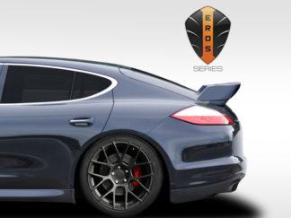 2010-2015 Porsche Panamera Eros Version 5 Wing Trunk Lid Spoiler - 1 Piece