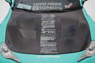 2013-2019 Scion FR-S Toyota 86 Subaru BRZ Carbon Creations 86-R Hood - 1 Piece