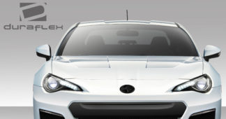 2013-2019 Scion FR-S Toyota 86 Subaru BRZ Duraflex 86-R Hood - 1 Piece