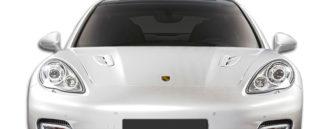 2010-2015 Porsche Panamera Eros Version 1 Hood Scoops - 1 Piece (S)