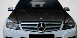 2012-2014 Mercedes C Class W204 Carbon Creations Black Series Look Hood - 1 Piece