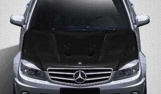 2008-2011 Mercedes C63 W204 Carbon Creations Black Series Look Hood - 1 Piece