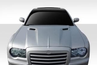 2005-2010 Chrysler 300 300C Duraflex Challenger Hood - 1 Piece