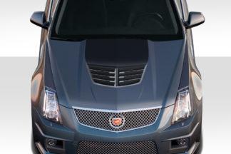 2008-2013 Cadillac CTS-V Duraflex Stingray Z Hood- 1 Piece