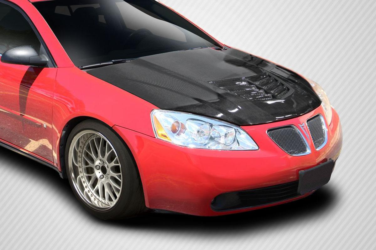 2005 2010 Pontiac G6 Carbon Creations Stingray Z Hood 1 Piece