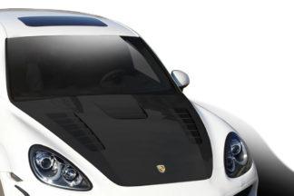 2011-2014 Porsche Cayenne Carbon AF-4 Hood ( CFP ) - 1 Piece (Overstock)
