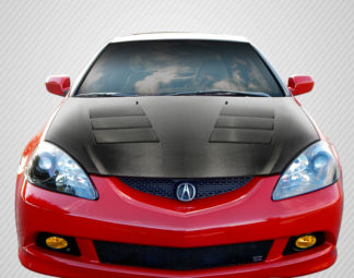 2002-2006 Acura RSX Carbon Creations DriTech TS-1 Hood - 1 Piece