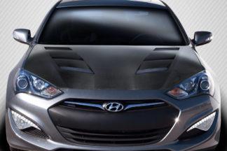 2013-2016 Hyundai Genesis Coupe 2DR Carbon Creations DriTech AM-S Hood - 1 Piece
