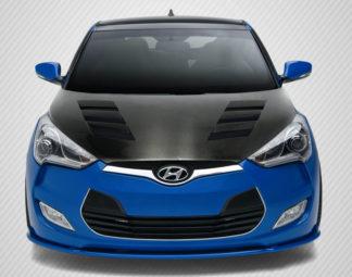 2012-2017 Hyundai Veloster Hyundai Veloster Carbon Creations DriTech AM-S Hood - 1 Piece