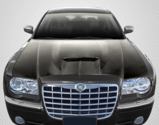 2005-2010 Chrysler 300 300C Carbon Creations DriTech SRT Look Hood - 1 Piece