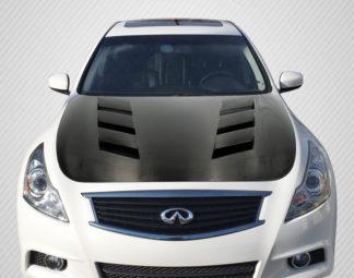 2007-2013 Infiniti G Sedan G25 G35 G37 / Q40 Carbon Creations DriTech AM-S Hood - 1 Piece