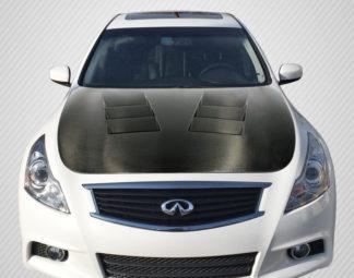 2007-2013 Infiniti G Sedan G25 G35 G37 / Q40 Carbon Creations DriTech TS-1 Hood - 1 Piece