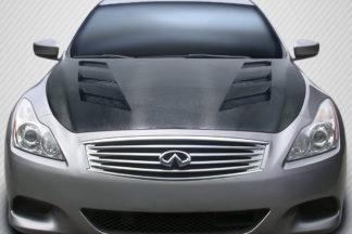 2008-2015 Infiniti G Coupe G37 Q60 Carbon Creations DriTech AM-S Hood - 1 Piece