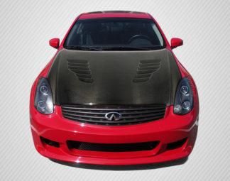 2003-2007 Infiniti G Coupe G35 Carbon Creations DriTech C-Speed Hood - 1 Piece