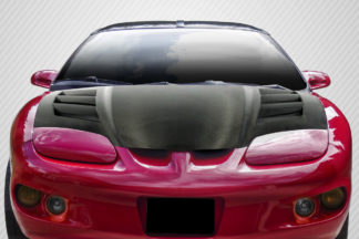 1998-2002 Pontiac Firebird / Trans Am Carbon Creations DriTech AM-S Hood - 1 Piece