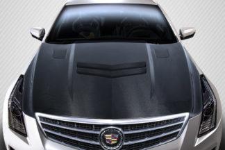 2013-2019 Cadillac ATS Carbon Creations DriTech AC-1 Hood - 1 Piece
