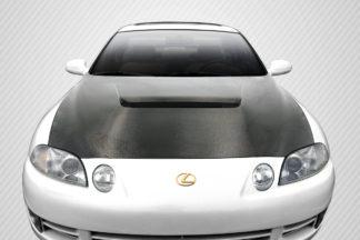 1992-2000 Lexus SC Series SC300 SC400 Carbon Creations DriTech VIP Hood - 1 Piece