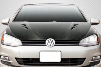 2015-2019 Volkswagen Golf / GTI Carbon Creations DriTech K Design Hood - 1 Piece
