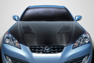 2010-2012 Hyundai Genesis Coupe 2DR Carbon Creations DriTech TS-1 Hood - 1 Piece
