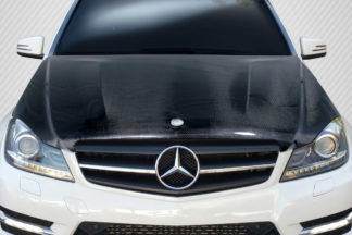 2012-2014 Mercedes C Class W204 Carbon Creations C63 Look Hood - 1 Piece