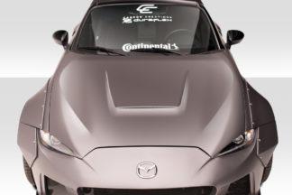 2016-2019 Mazda Miata Duraflex Circuit Hood - 1 Piece