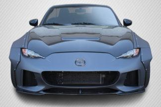 2016-2019 Mazda Miata Carbon Creations Circuit Hood - 1 Piece