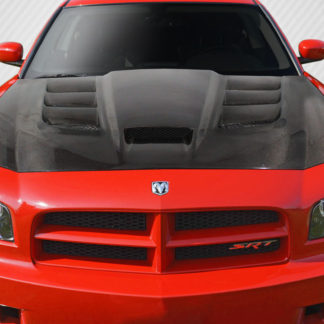 2006-2010 Dodge Charger Carbon Creations DriTech Viper Look Hood - 1 Piece