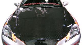 2010-2012 Hyundai Genesis Coupe 2DR Carbon Creations DriTech OEM Hood - 1 Piece