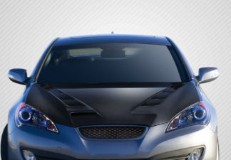 2010-2012 Hyundai Genesis Coupe 2DR Carbon Creations DriTech RS-1 Hood - 1 Piece