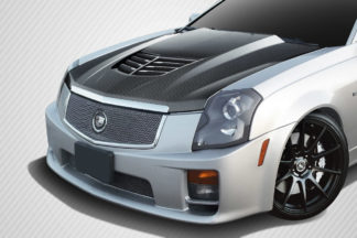 2003-2007 Cadillac CTS Carbon Creations DriTech Stingray Z Hood- 1 Piece