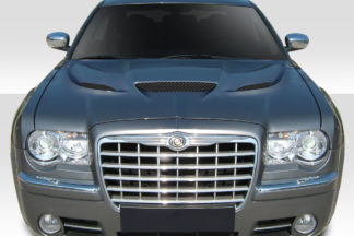 2005-2010 Chrysler 300 300c Duraflex Hellcat Look Hood - 1 Piece