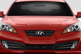2010-2012 Hyundai Genesis Coupe 2DR Duraflex TS-1 Hood - 1 Piece
